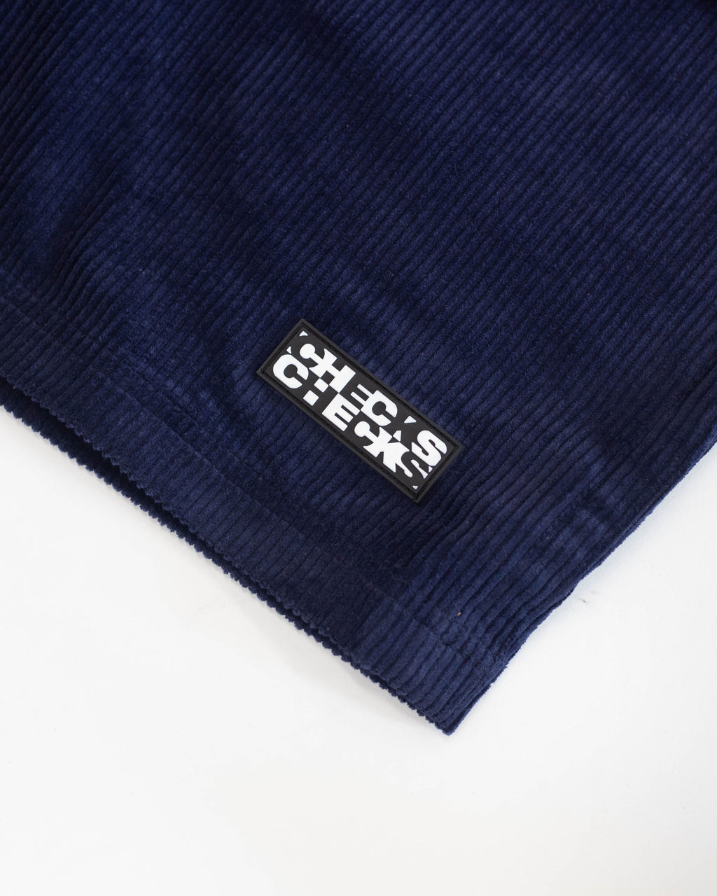 Corduroy Rugby Shorts Navy