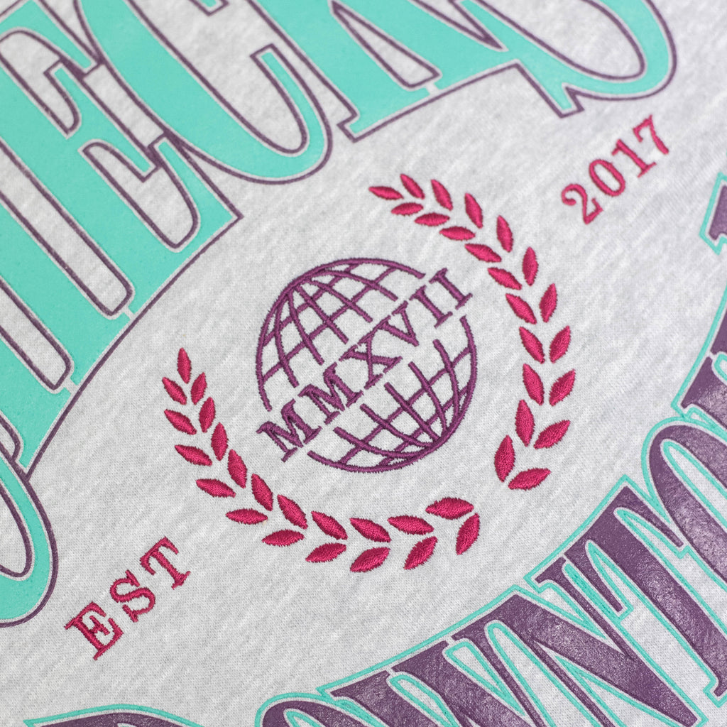 Championship Crewneck South Beach | CHECKS DOWNTOWN