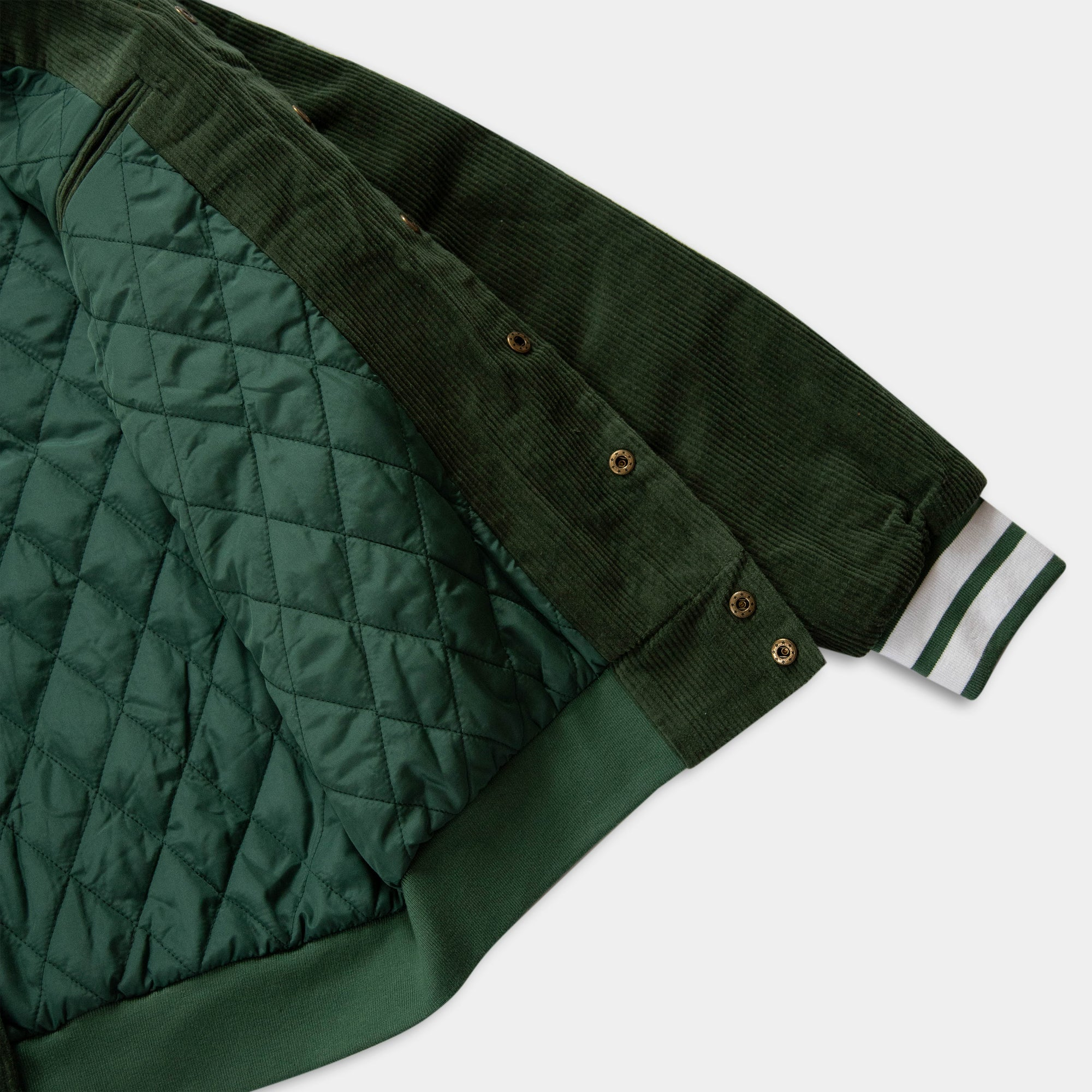 Load image into Gallery viewer, Starters Jacket Green Corduroy | CHECKS DOWNTOWN