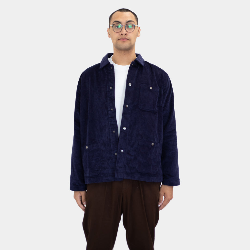 Shop Jacket Navy Corduroy | CHECKS DOWNTOWN