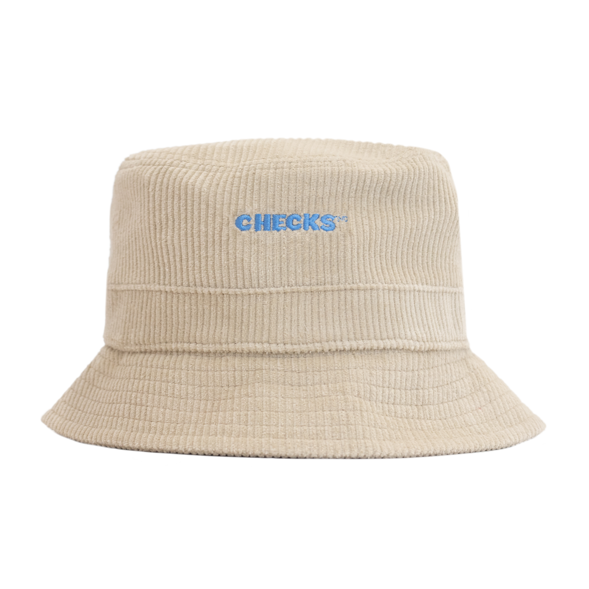 Load image into Gallery viewer, Cord Bucket Hat Natural | CHECKS DOWNTOWN