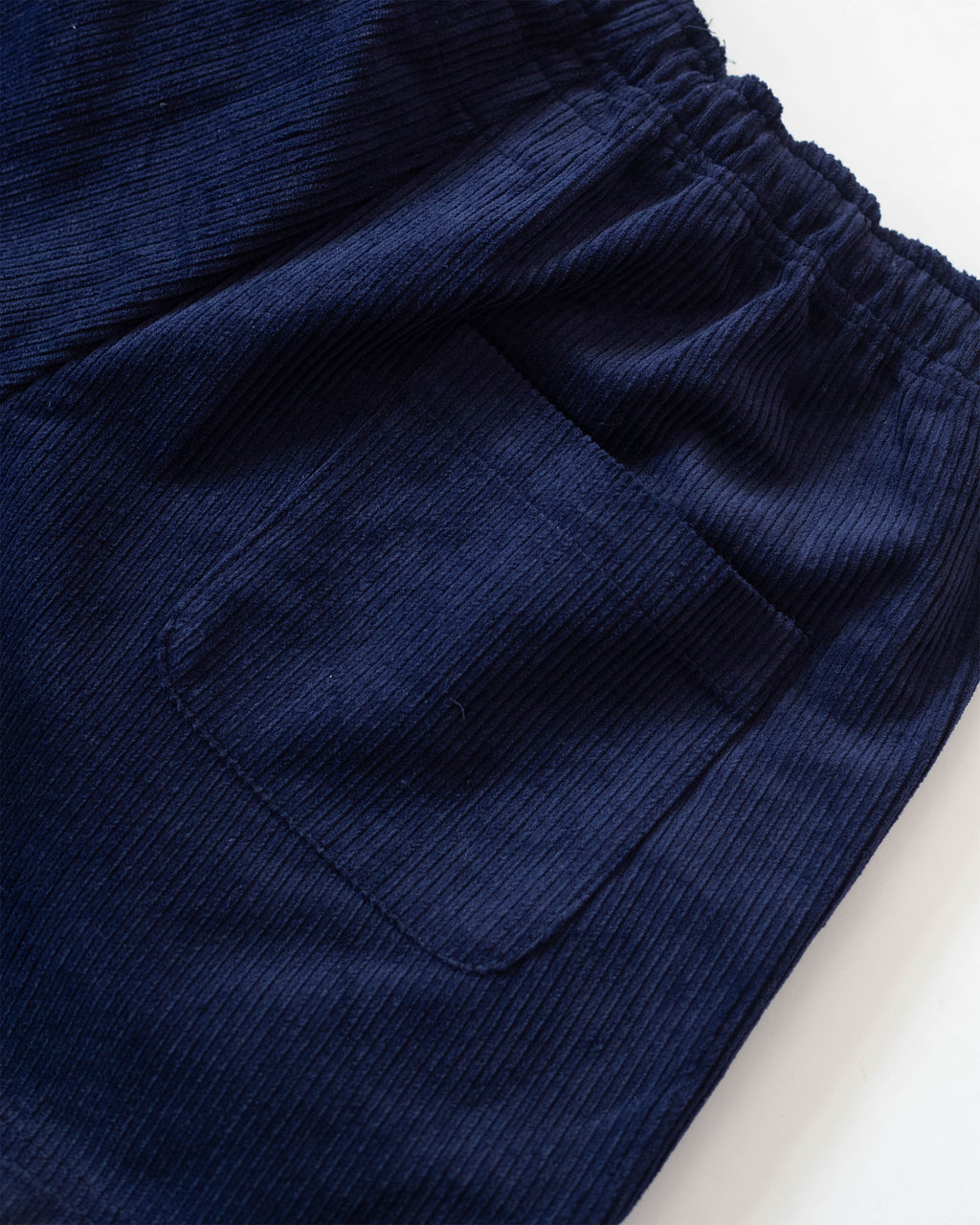 Corduroy Rugby Shorts Navy | CHECKS DOWNTOWN