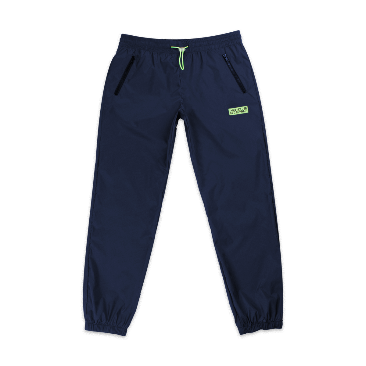 Nylon Running Pants Navy | CHECKS DOWNTOWN  Edit alt text