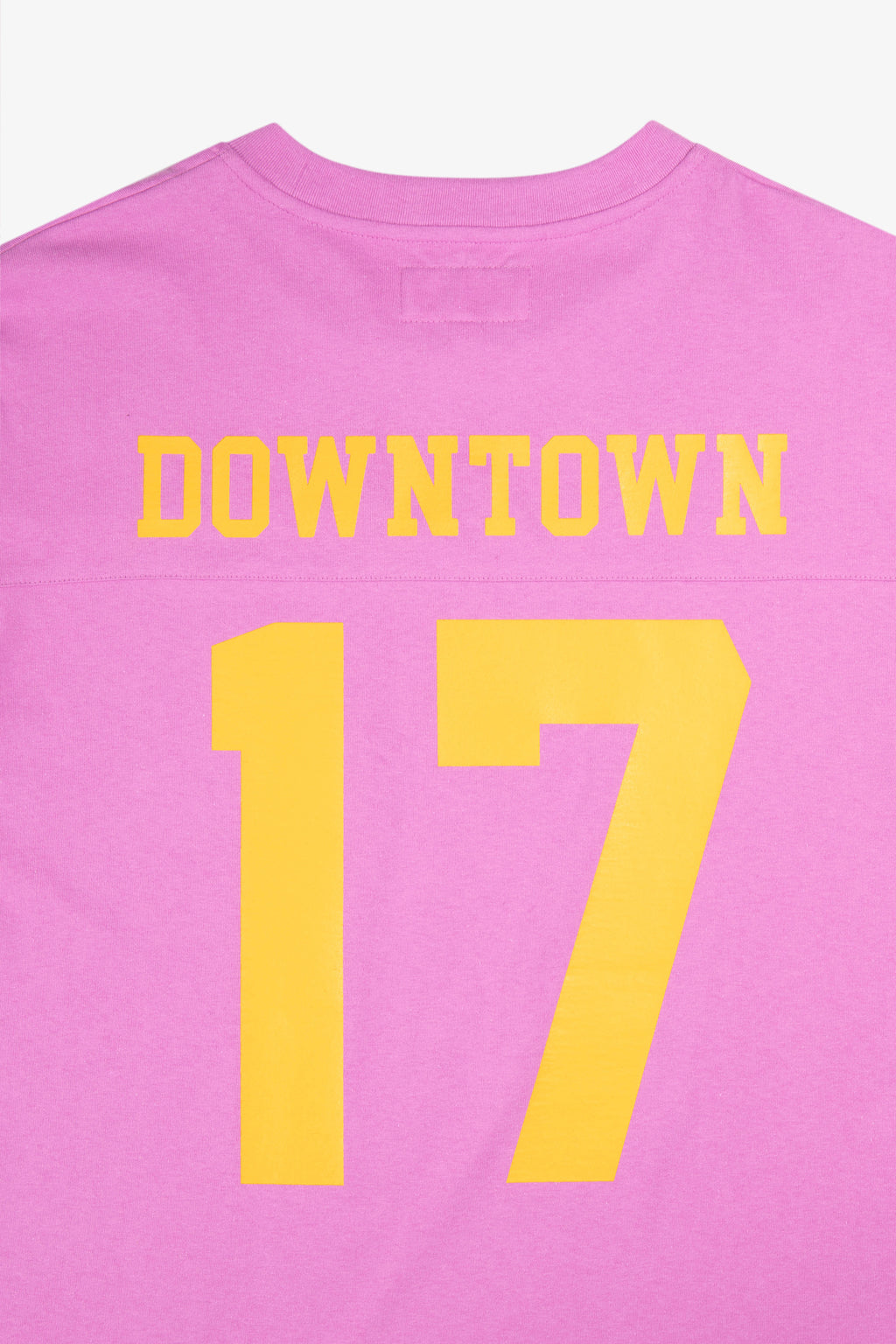 Football Jersey Dusty Pink | CHECKS DOWNTOWN