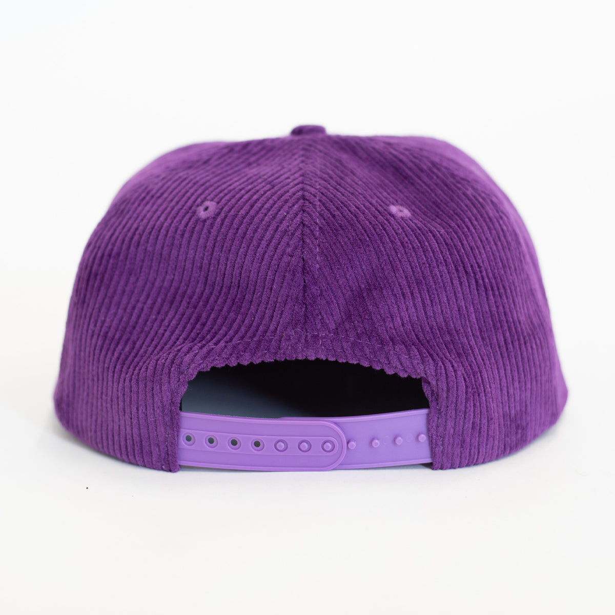 Gameday Snapback Cap Purple | CHECKS DOWNTOWN