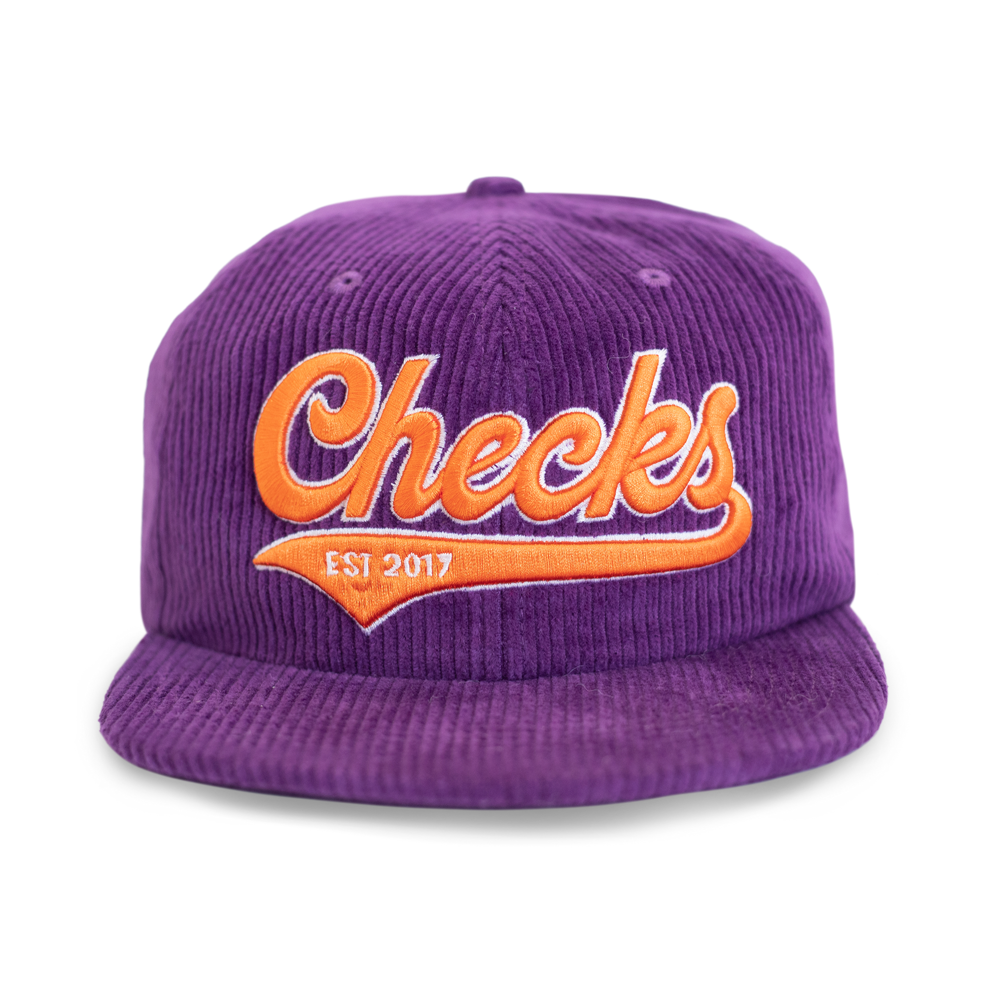 Load image into Gallery viewer, Gameday Snapback Cap Purple | CHECKS DOWNTOWN