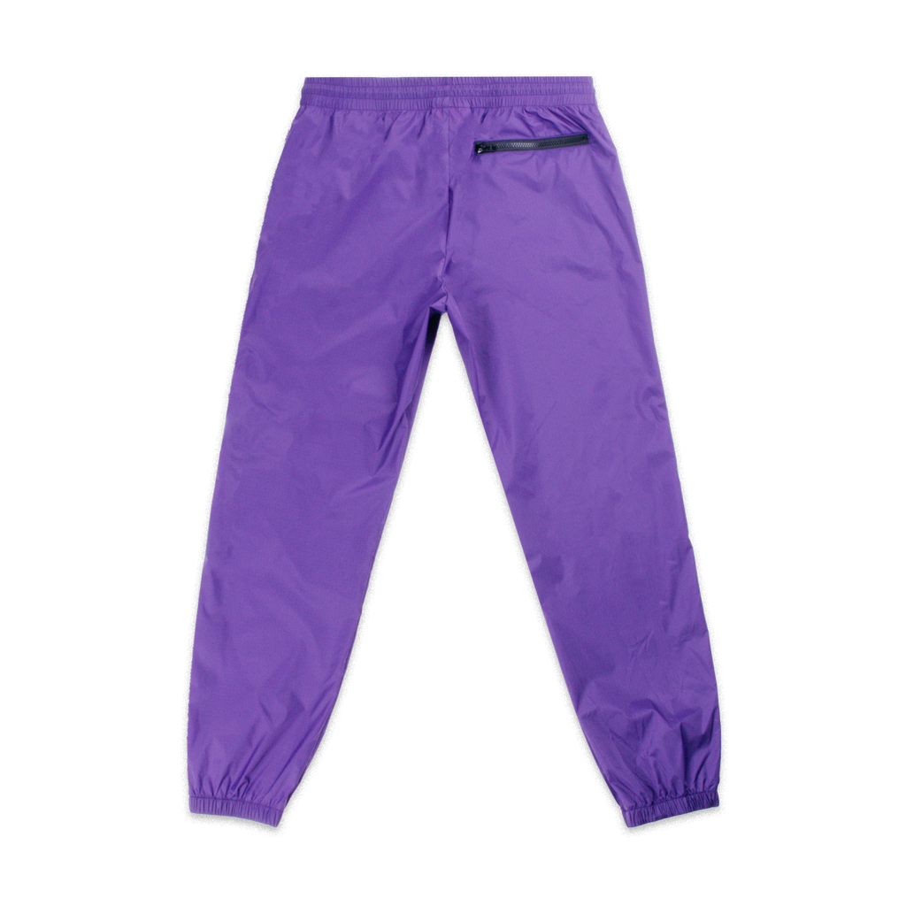 Nylon Running Pants Purple | CHECKS DOWNTOWN