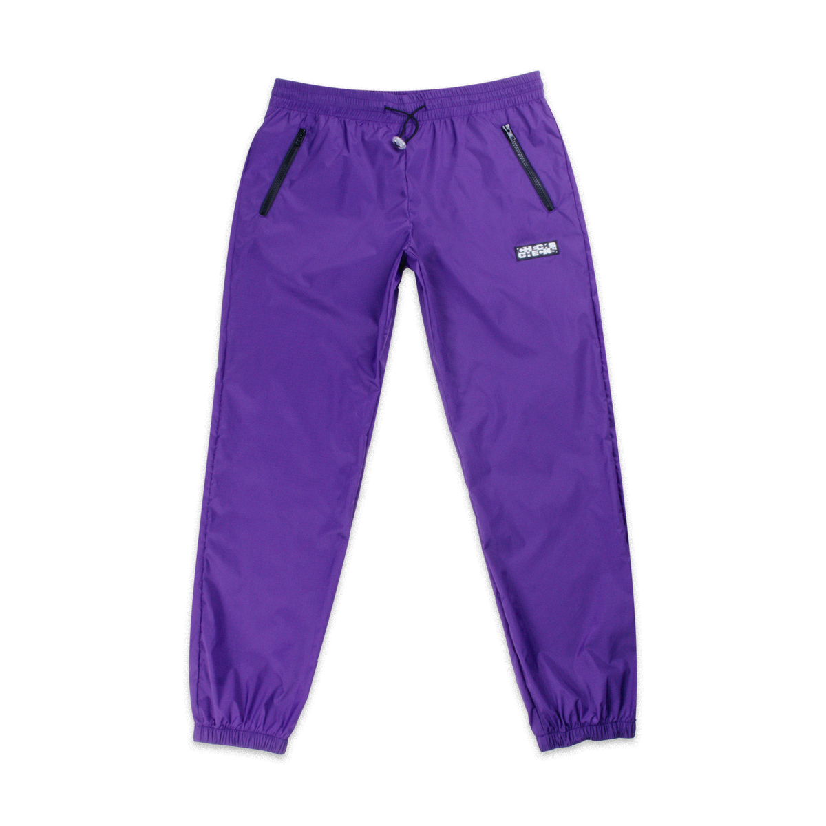 Load image into Gallery viewer, Nylon Running Pants Purple | CHECKS DOWNTOWN  Edit alt text