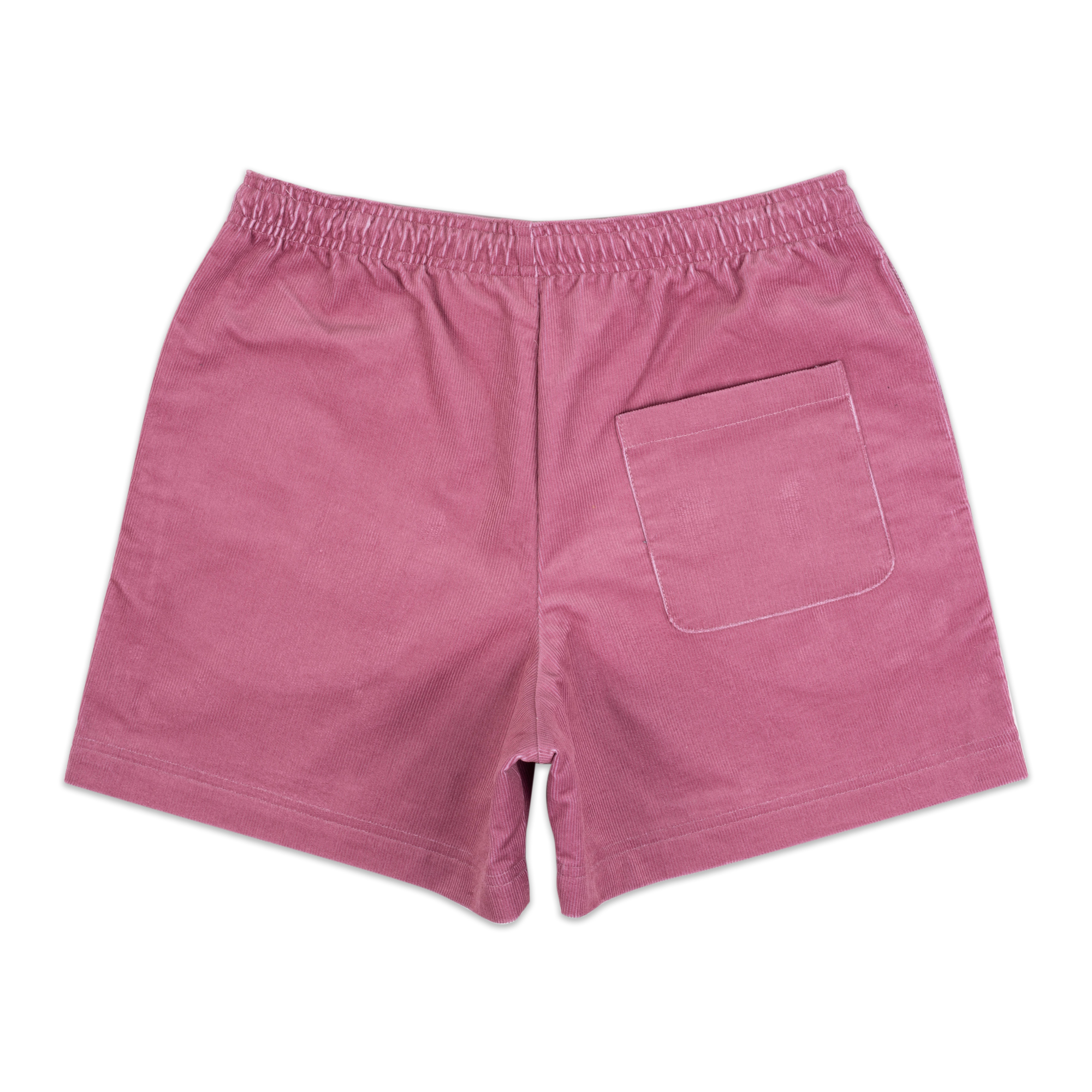 Load image into Gallery viewer, Corduroy Rugby Shorts Raspberry | CHECKS DOWNTOWN