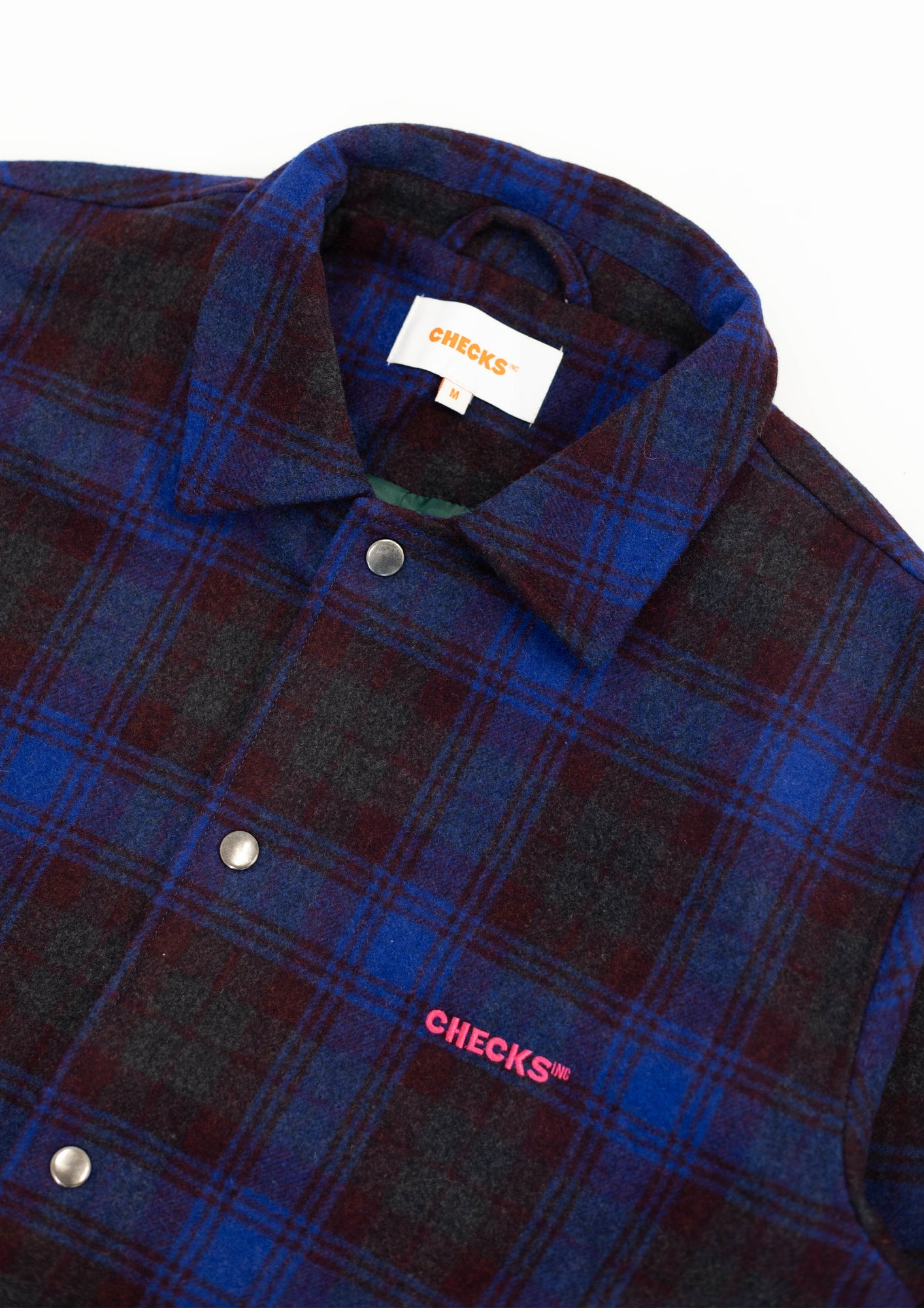 Load image into Gallery viewer, Sideline Jacket Navy Tartan | CHECKS DOWNTOWN
