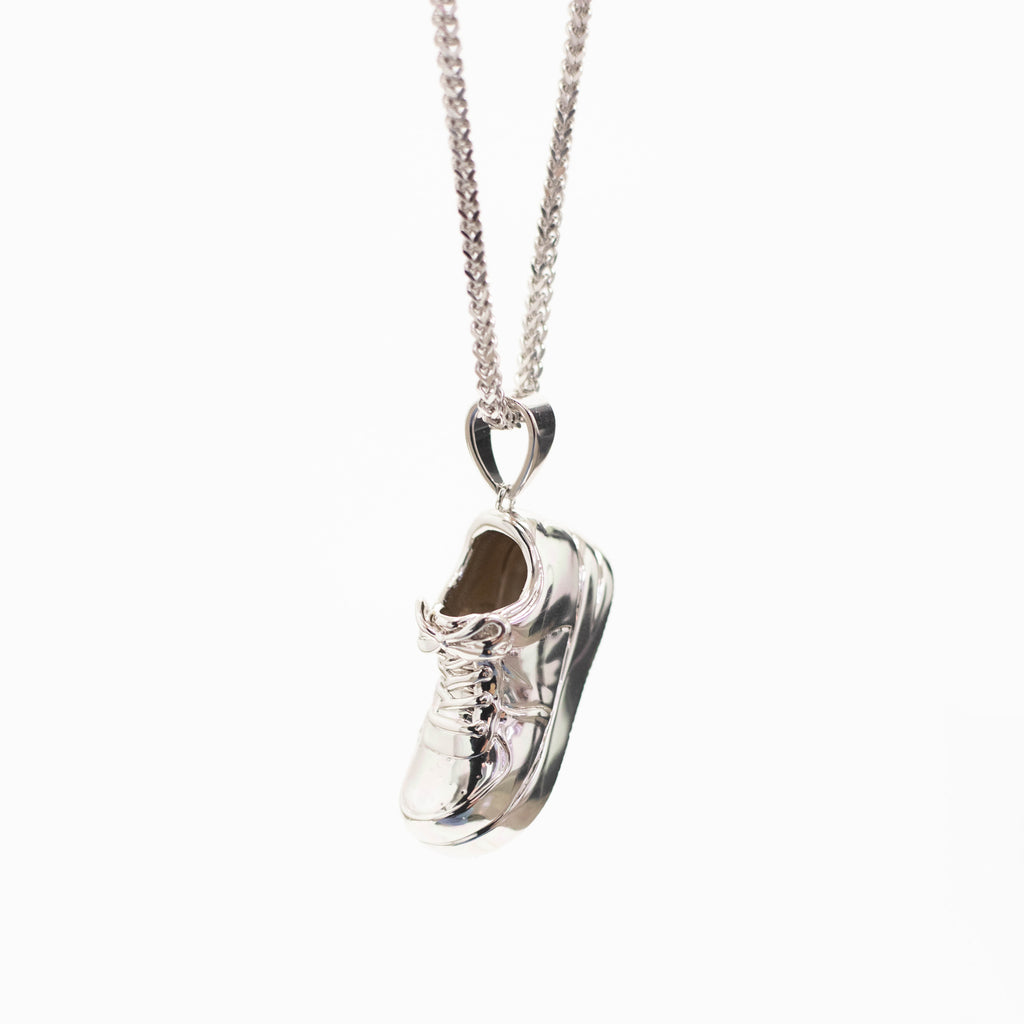 Uptown Pendant Silver | CHECKS DOWNTOWN