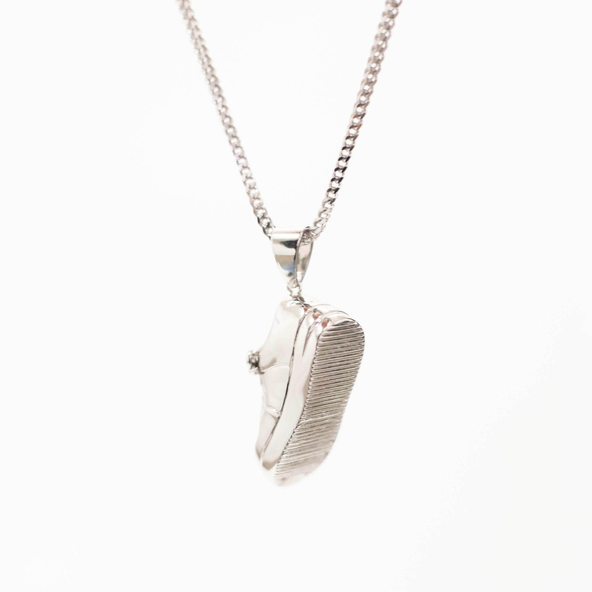 Load image into Gallery viewer, Uptown Pendant Silver | CHECKS DOWNTOWN