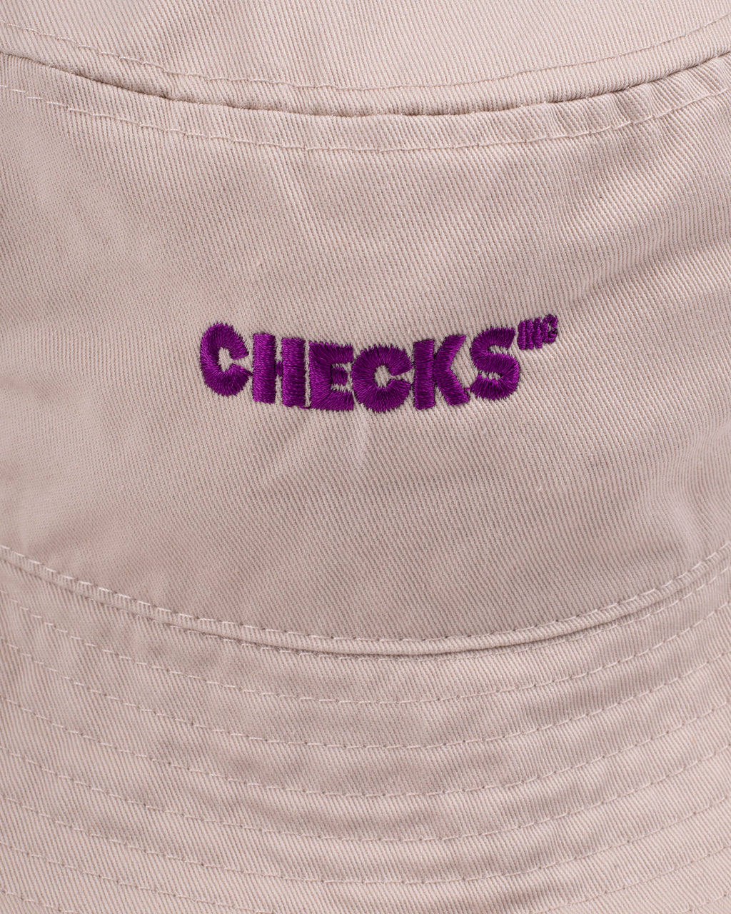 Classic Bucket Hat Taupe | CHECKS DOWNTOWN