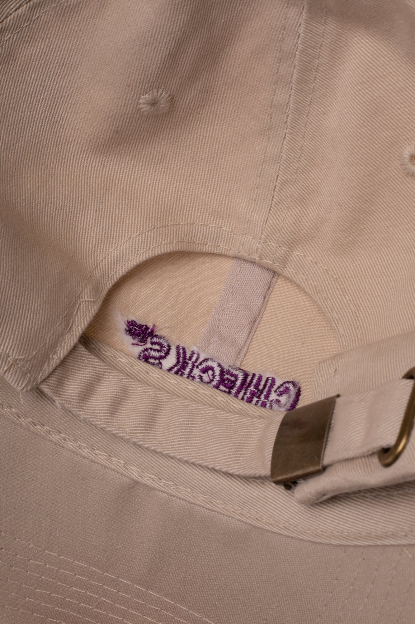 Load image into Gallery viewer, Classic Cap Khaki | CHECKS DOWNTOWN