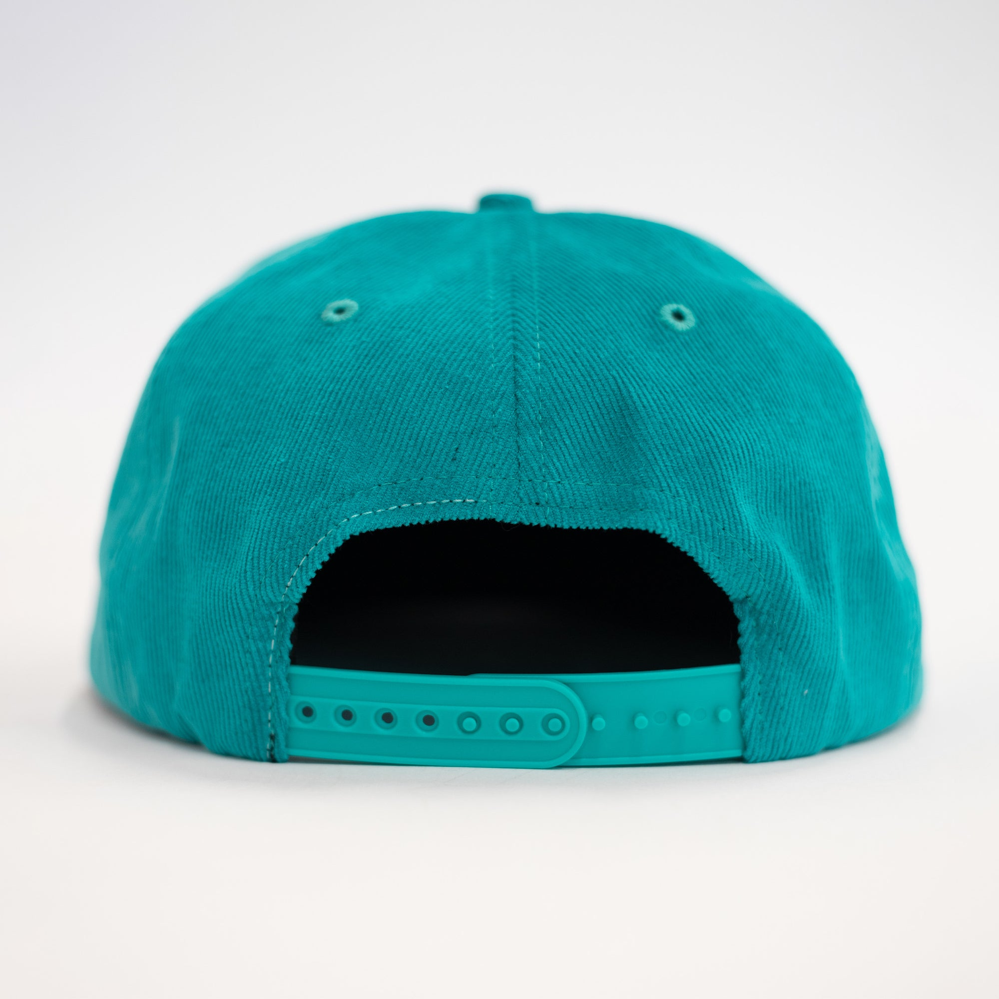 Load image into Gallery viewer, Gameday Snapback Cap Turquoise | CHECKS DOWNTOWN