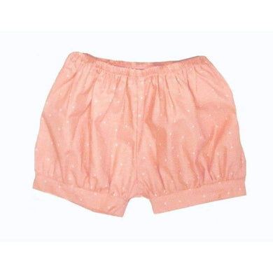 Clearance - Sweet As Sugar Couture Coral Dot Bubble Shorts - 2T - Bottom