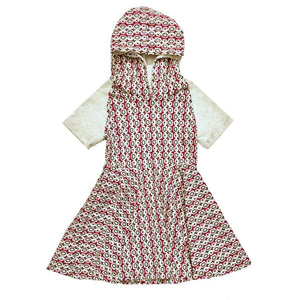 Clearance - Sweet As Sugar Couture Mod Circle Hoodie Dress - 2T - Dress
