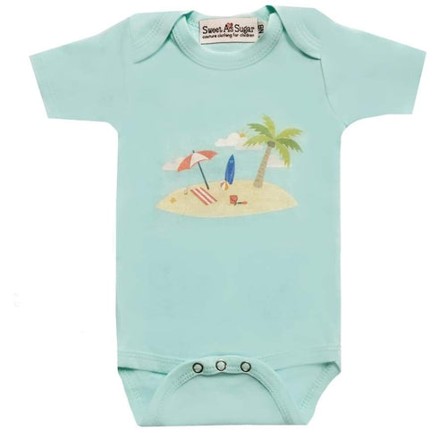 Clearance - Sweet As Sugar Couture Summer Chill Onesie - Nb - Top