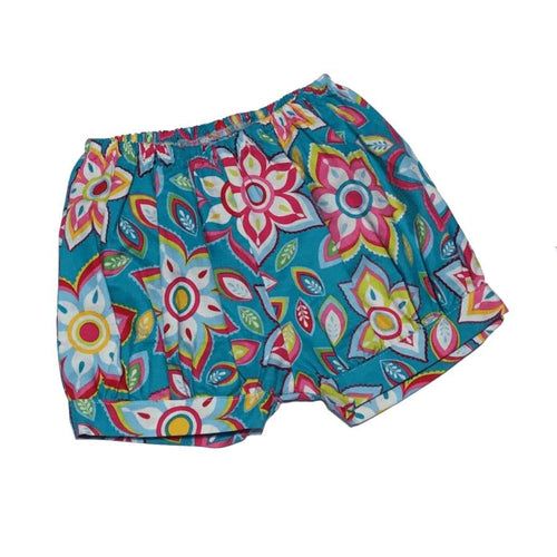 Clearance - Sweet As Sugar Couture Teal Magnolia Bubble Shorts - 12M - Bottom