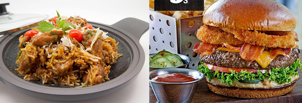 chili's and yantra set lunch in tanglin mall