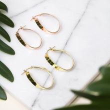 Curved Oval Hoops