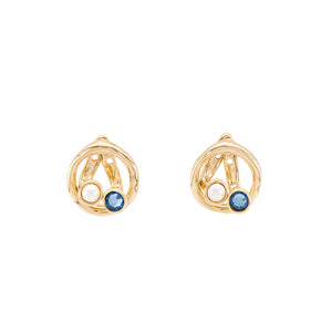 UNOde50 Desencuentro Earrings - Gold