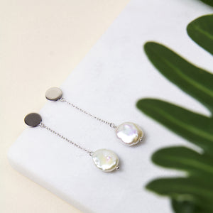 Freshwater Pearl Single Drop Earrings