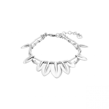leaf bracelet women's silver cute