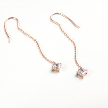 Asteria Chain Drop Earrings