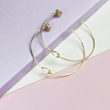 Citrine Large Hoops
