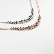 chain necklace jewellery rose gold plating