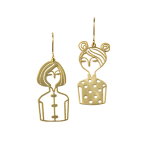 Cheongsam Chicks Earrings