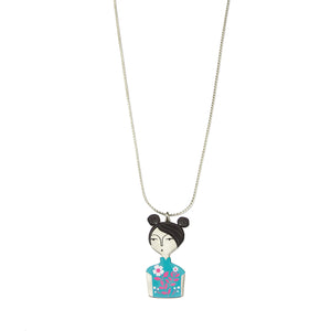 Cheongsam Chicks Necklace