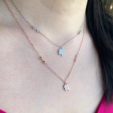 Single 4 Leaf Clover Necklace