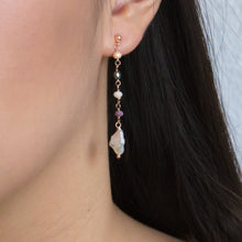 Coco Pastel Swarovski Drop Earrings