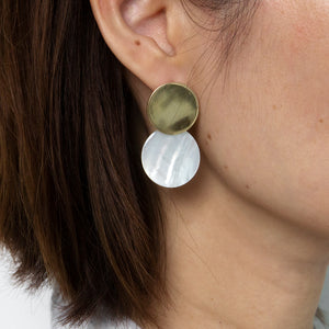 Daniella Mother of Pearl Earrings