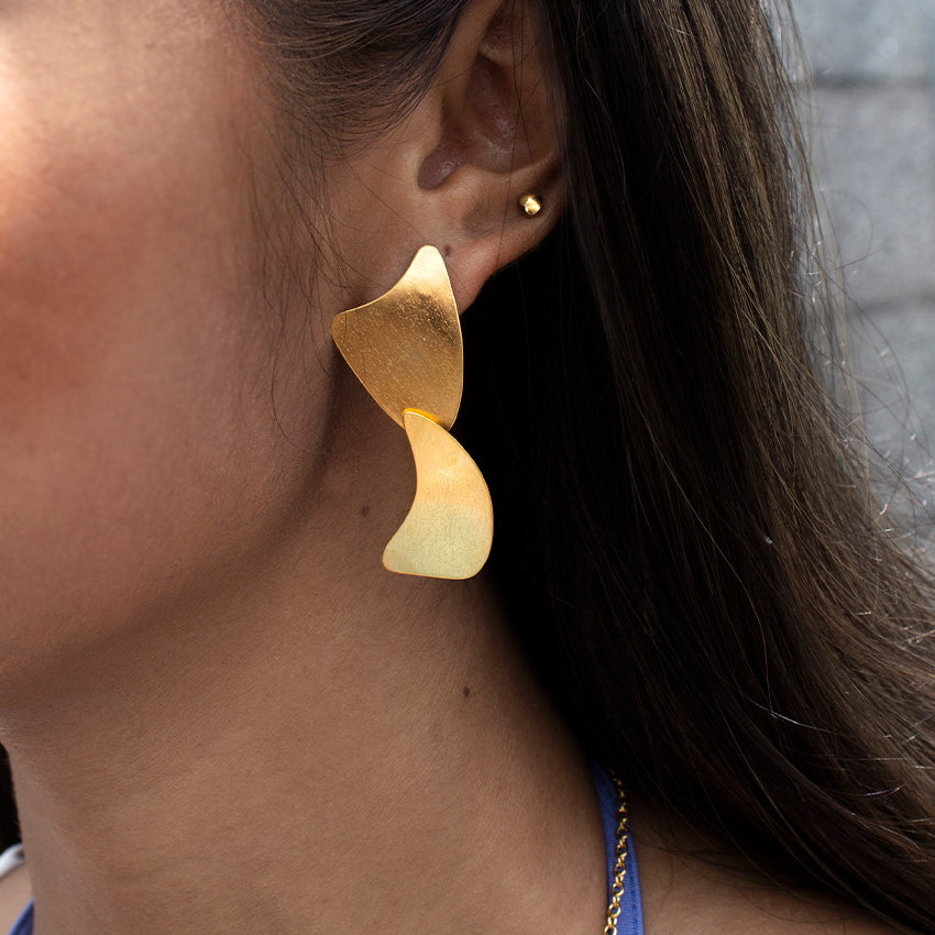 Fin Earrings