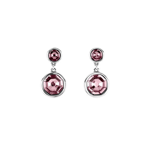 UNOde50 Double Trouble Earrings - Pink (Pre-Order)