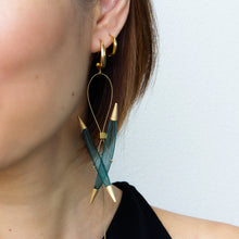 Entwine Nylon Thread Earrings