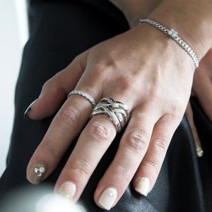 women's jewellery 925 sterling silver rings