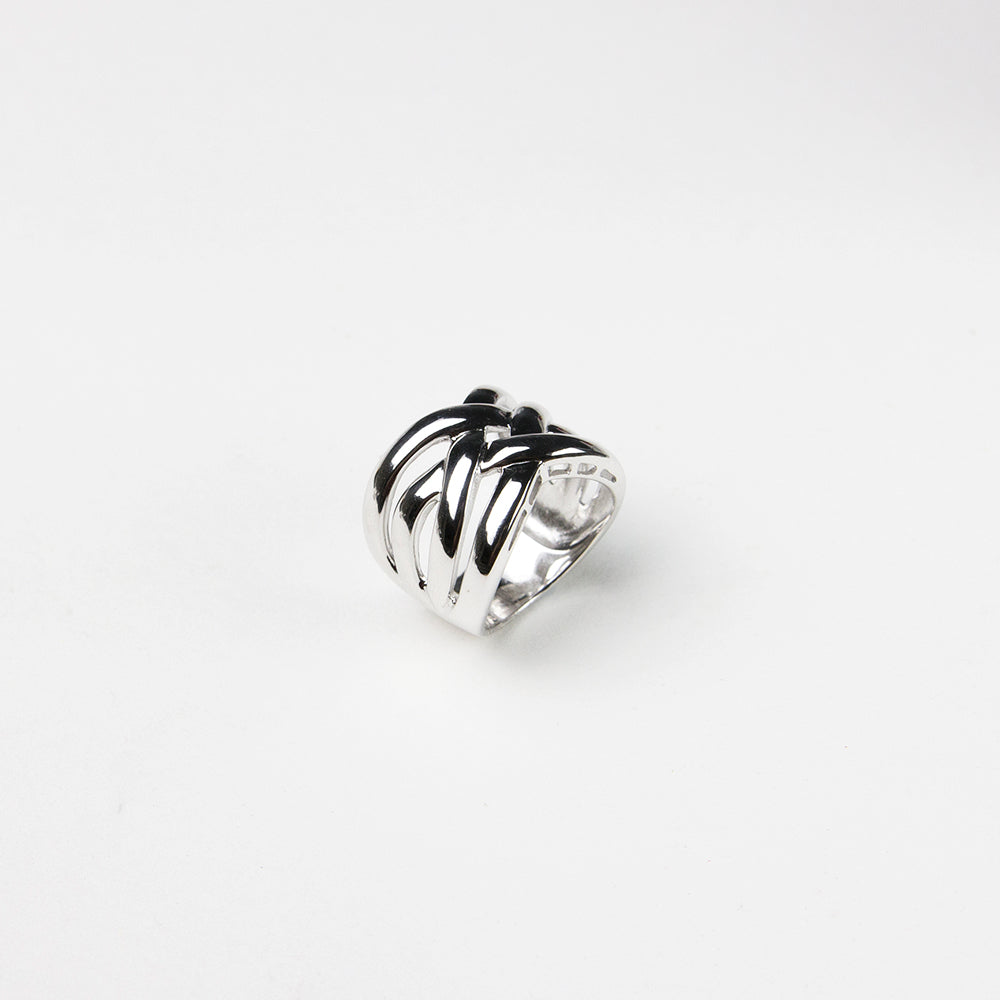 925 Sterling silver ring simple elegant