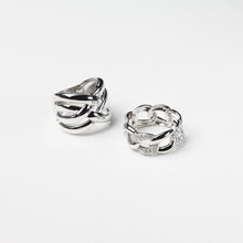 925 Sterling silver stackable large rings