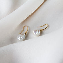 Eva Baroque Pearl 10k Gold Earrings