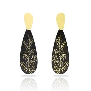 RAS Provenza Gold Gout Earrings