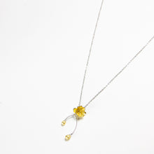 Gold Plated Flower Necklace