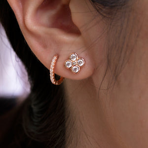 Sparkle On Baby Hoops
