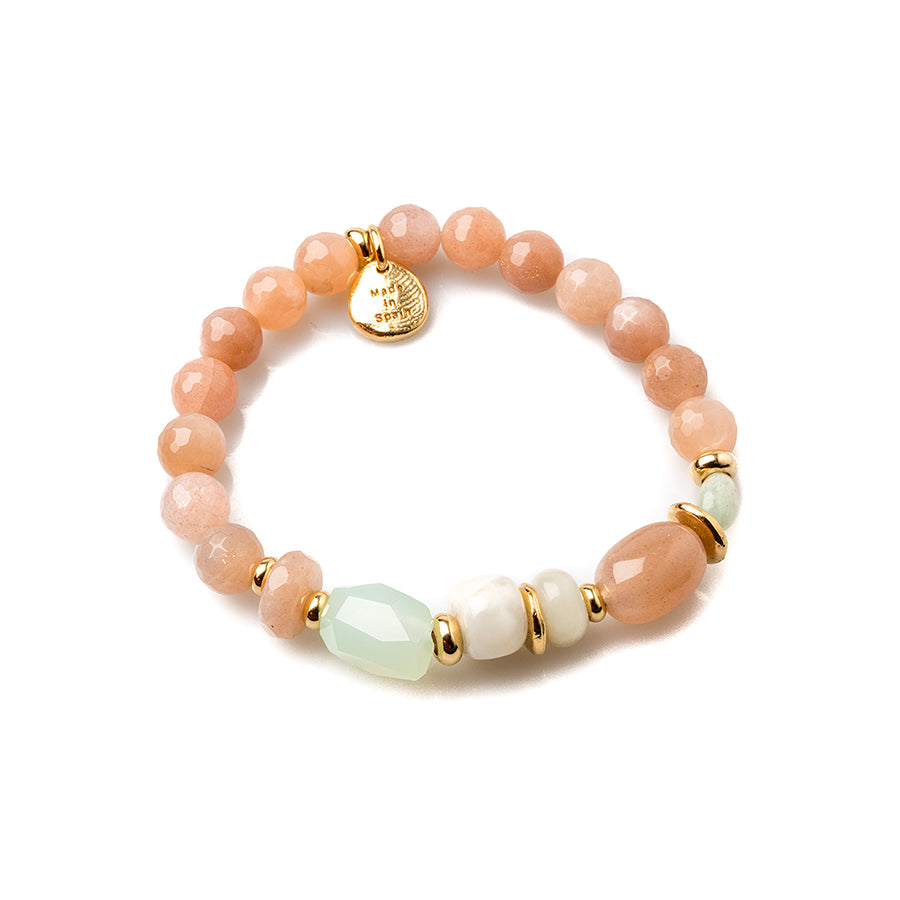 Velatti Mixed Gemstone Stretch Bracelet