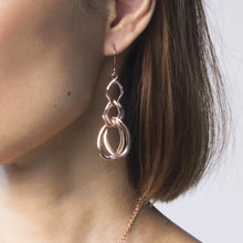 Triple Chain Earrings
