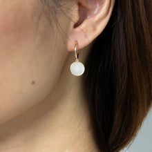 Cecil Mother of Pearl Drop Earrings
