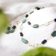 Kyanite and Lapis Necklace